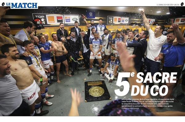 «Le journal d'ici», rugby, hors-série «Phénoménal!»