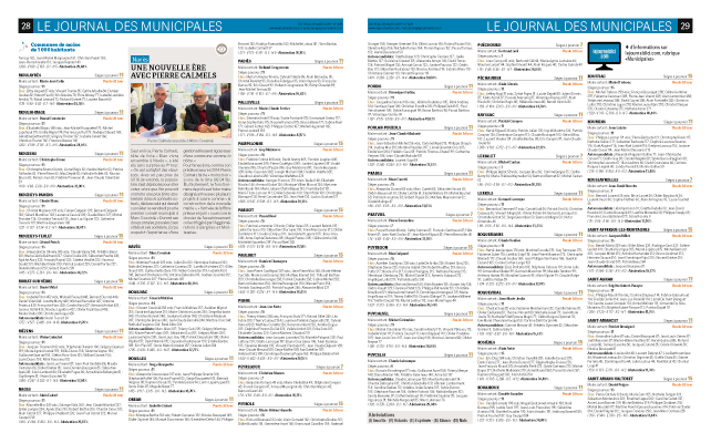 Le Journal d'Ici-Municipales 2020