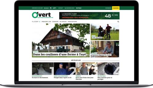 semaineovert.fr, conception et développement du site Internet, ProEdito, Drupal