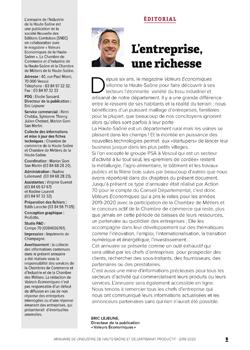 annuaire de l'industrie de Haute-Saône et de l'artisanat productif